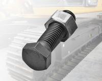 Heavy machine tracked screws
